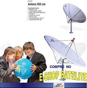 Antena Fibra de Vidro 260 CM LERO-SAT