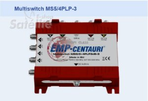 Chave Multiswitch MS5/4PLP-3 - Emp-Centauri