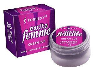 FORSEXY EXCITA FEMME - POMADA EXCITANTE COM FUNÇÃO DE AQUECIMENTO - 4G