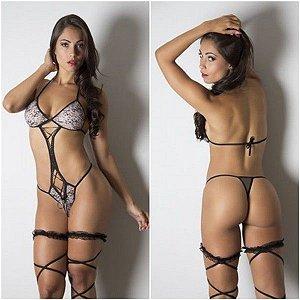 Lingerie sensual sexy body ousada