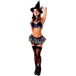 Fantasia bruxinha bruxa