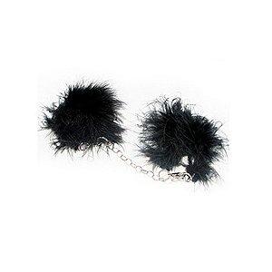 Algemas eróticas com marabú preto - atelie be & ci pp