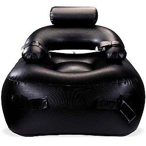 Cadeira inflável preta - forbidden chair