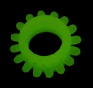 Anel peniano fosforescente