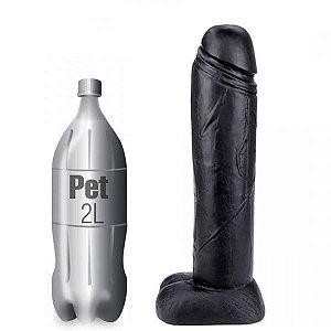 Pênis gigante 40 x 10cm - cor preta