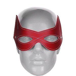 Máscara venda mulher gata vermelha