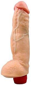 Pênis realístico JAMANTA vibrador 20 x 6 cm
