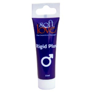 Rigid Plus gel 15 ml - excitante de ereção
