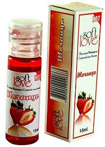 Gel comestível Hot 15ml - Morango