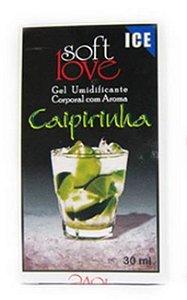 Gel comestível Ice 30ml - Caipirinha