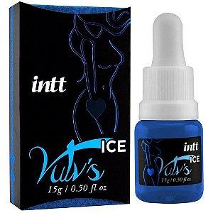 INTT VULV'S ICE - ESTIMULANTE COM FEROMÔNIO FEMININO - 4X1 REFRESCA, ESTIMULA, EXCITA, LUBRIFICA