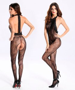 Bodystocking - Macacão Rendado