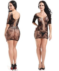 Bodystocking - Vestido Rendado