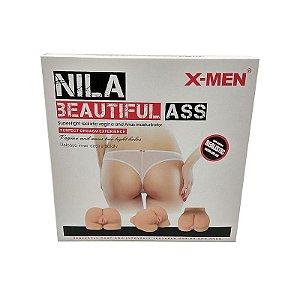 Nila Beautiful Ass - Masturbador Bunda com vagina e ânus penetráveis