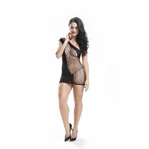 BODYSTOCKING VESTIDO RENDADO