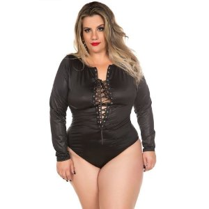 BODY GLADIADORA PLUS SIZE
