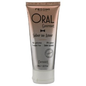 Oral Gourmet Sabor No Amor Gel Comestível 35ml Pessini - Sabor Coconut