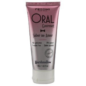 Oral Gourmet Sabor No Amor Gel Comestível 35ml Pessini - Sabor Marshmallow