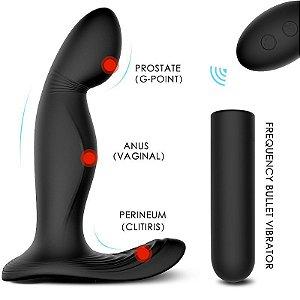 Zeus RCT - Estimulador de Próstata recarregável