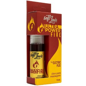 ULTRA POWER FIRE - SPRAY EXCITANTE COM EFEITO QUE ESQUENTA - 15 ML