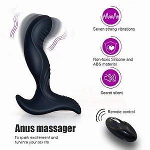 aixiasia cole - estimulador massageador de próstata recarregável com controle remoto sem fio