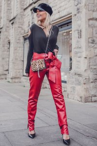 LONDON COLLECTION | Calça Exclusive Fake Boopie Red