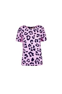 ESPECIAL SALE | Blusa Blessinha Estampa Jaguar Pink Mouth Bordada