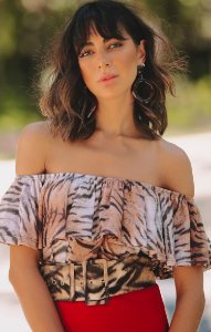 TULUM COLLECTION | Blusa Cigana Tigre