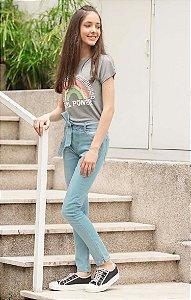 TULUM COLLECTION | Calça Jeans Teen Amarração