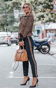 URBAN STYLE | Conjunto Moletinho Zebra Brown
