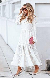 SPRING PREVIEW  | Vestido Longo Mariah Off-White