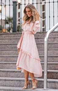 SPRING PREVIEW  | Vestido Poá Amarração Yhasmin Rosê