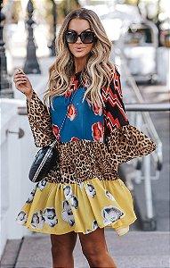SPRING PREVIEW | Vestido Estampa Shock Color