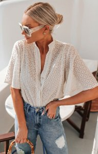 SANTORINI | Camisa Bordada Egina
