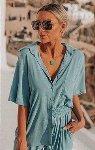 SANTORINI | Camisa Perseu Blue
