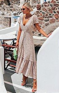 SANTORINI | Vestido Midi Ilítia