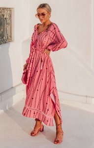 SANTORINI | Vestido Estampa Agatha