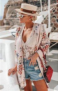 SANTORINI | Kimono Tália C/ Cinto
