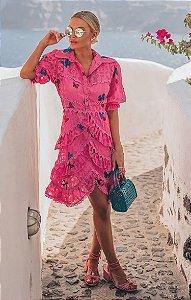 SANTORINI | Vestido Borboletas Ninfa