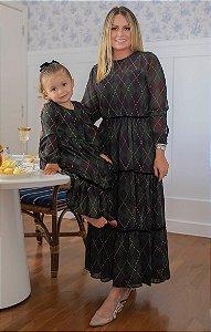 NYC COLLECTION   Vestido Infantil Blessinha Madeline