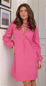 Vestido Com Laço Frontal Camille | L'AMOUR COLLECTION