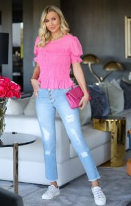 Calça Jeans Lis Botões | DROPS OF JOY