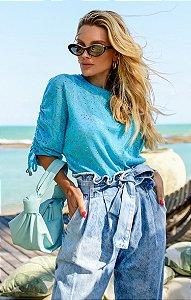 Blusa Camille Azul | RIVIERA FRANCESA