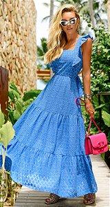 Vestido Mégan Azul | RIVIERA FRANCESA
