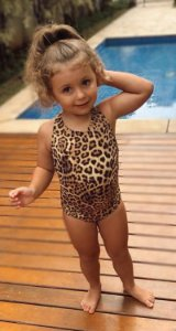 Body Animal Print Infantil Blessinha Rosalie | RIVIERA FRANCESA
