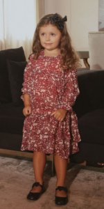 Vestido Infantil Blessinha Juliana | DNA BLESSED