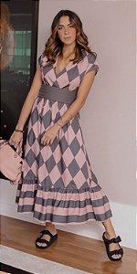 Vestido Losango Sarah | DNA BLESSED