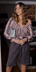 Blusa Listras Sarah c/ Puxador | DNA BLESSED