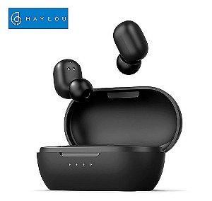 Fone de ouvido Bluetooth Haylou GT1 Pro Preto
