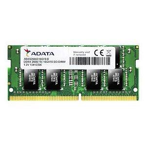 Memória para notebook 8GB DDR4 2666MHZ Adata AD4S26668G19-SGN